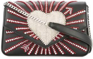 Les Petits Joueurs ivy heart cupid crossbody bag