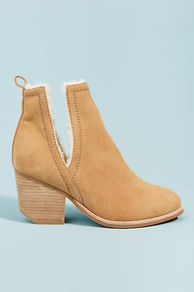 Jeffrey Campbell Orwell Sherpa-Lined Booties