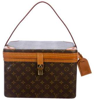 Louis Vuitton Vintage Monogram Vanity Case