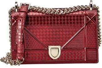 Christian Dior Diorama Patent Shoulder Bag