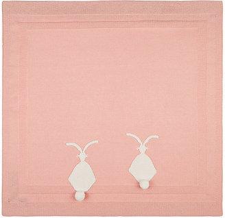Bunny Cotton-Cashmere Blanket