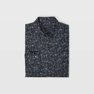 Club Monaco Slim Winding Daisy Shirt