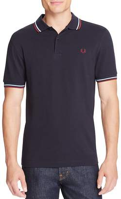 Fred Perry Tipped Logo Slim Fit Polo Shirt $85 thestylecure.com
