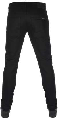 Nudie Jeans Grim Tim Straight Slim Jeans Dry Cold