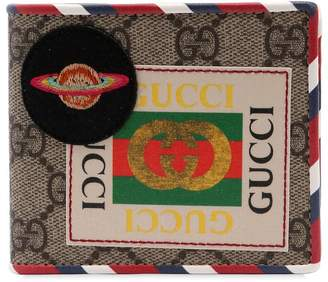 Gucci Courier Gg Supreme Classic Wallet