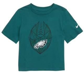 Nike NFL Logo Philadelphia Eagles Graphic T-Shirt