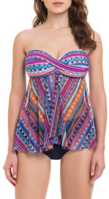 Gottex PROFILE BY Tapestry Flyaway Tankini Top
