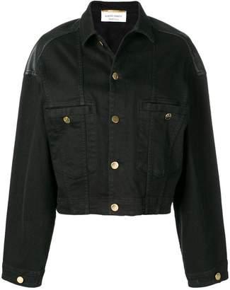 Alberta Ferretti oversized denim jacket