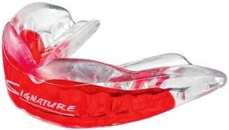 clear Achilles VIPA Custom Mouthguard Red Teen