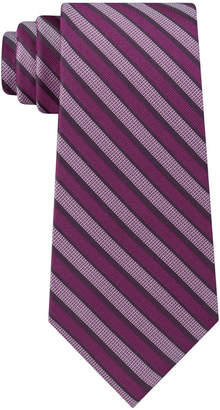 Calvin Klein Men Classic Stripe Silk Tie