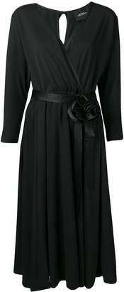 Marc Jacobs v-neck rosette dress