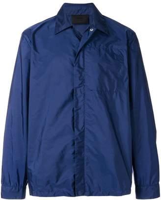 Prada front zip lightweight jacket