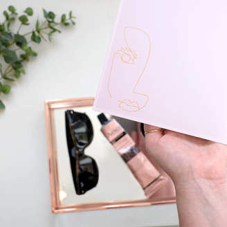 Keepsake Stackers Pink Face Classic Trinket Box