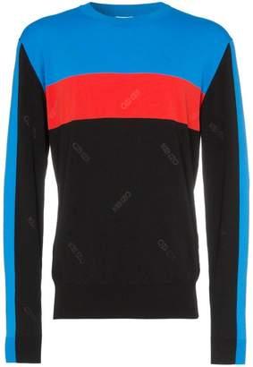 Kenzo block colour striped sweater