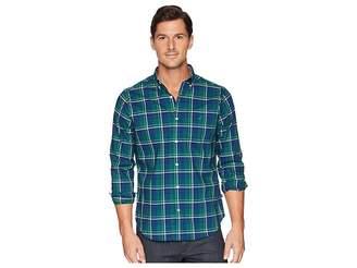 Nautica Long Sleeve Wear to Work Classic Plaid Shirt