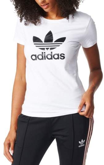 Women's Adidas Originals Trefoil Jersey Tee