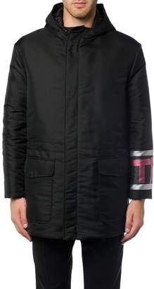 Fendi Technical Jacket With Logo Lettering