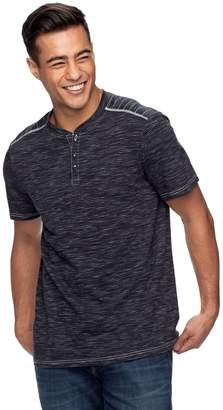 Rock & Republic Men's Layered-Collar Henley