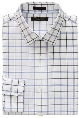 Banana Republic Grant Slim-Fit Non-Iron Plaid Shirt