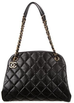 Chanel Chanel Large Just Mademoiselle Bowling Bag