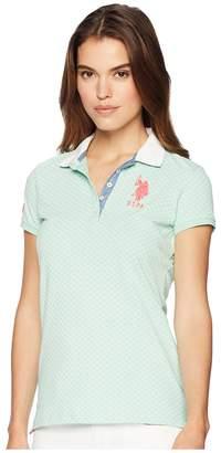 U.S. Polo Assn. Print Polo Women's Clothing
