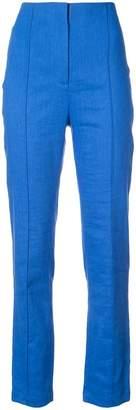 Diane von Furstenberg high waisted tailored trousers