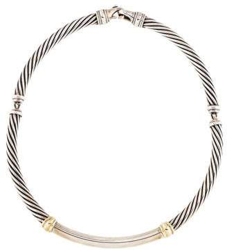 David Yurman Metro Cable Necklace