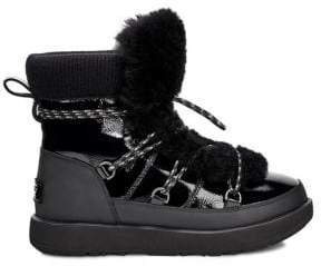 UGG Highland Fur Trimmed Waterproof Boots