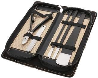 MagiDeal Professional 5pcs Cuticle Nipper Toe Nail Art Clipper Paronychia Ingrown Pedicure Tools