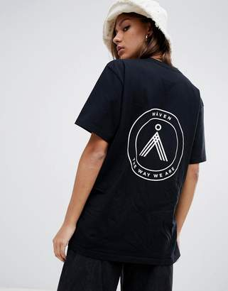 WÅVEN Sten emblem t-shirt