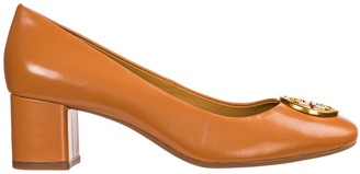 Tory Burch Leather Pumps Court Shoes High Heel Chelsea