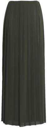 Vionnet Pleated Georgette Maxi Skirt