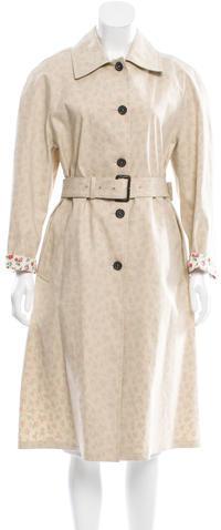 pradaPrada Belted Long Coat w/ Tags
