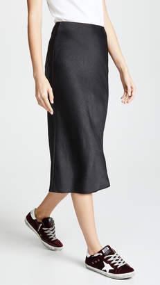 Alexander Wang Wash & Go Woven Skirt