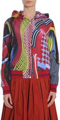 Versace Double Face Energy Wave Bomber Jacket