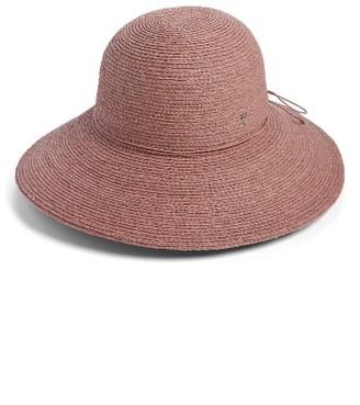 Women's Helen Kaminski Delphina Wide Brim Hat - Pink $230 thestylecure.com