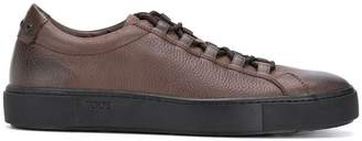 Tod's burn out lace-up sneakers