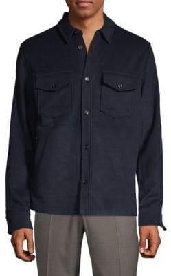 J. Lindeberg Long-Sleeve Button-Down Shirt