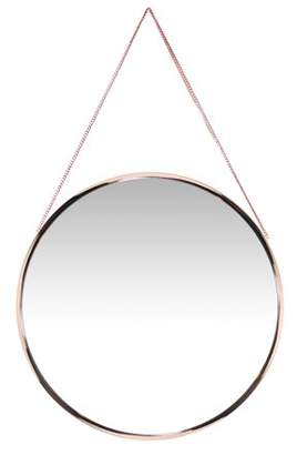 Infinity Instruments Franc Round Wall Mirror - 17.87W x 17.87H in.