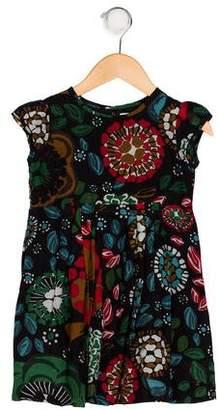 Burberry Printed Short Sleeve Dress