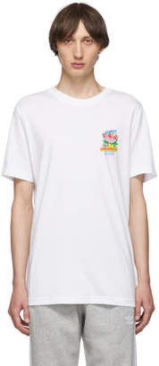adidas White Bodega Popsicle T-Shirt