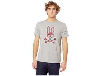 Psycho Bunny Plaid Bunny Graphic Tee