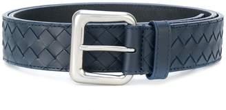 Bottega Veneta light tourmaline Intrecciato belt