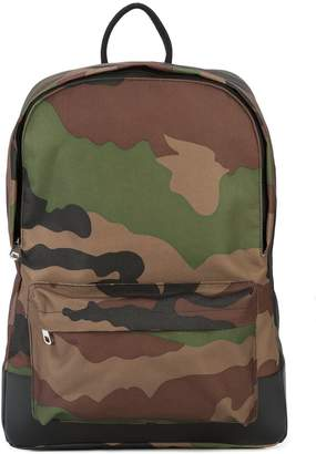 A.P.C. camouflage print backpack