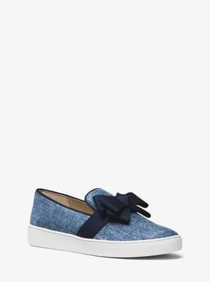 Michael Kors Val Denim Slip-On Sneaker