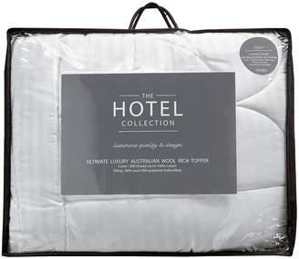 Hotel Collection Ultimate Luxury Australian Wool Rich 7cm Mattress Topper