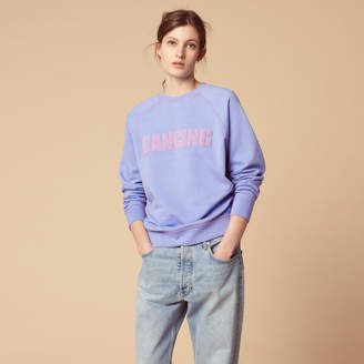Sandro Dancing embroidered sweatshirt
