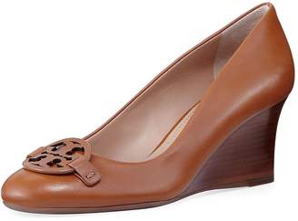Tory Burch Miller Leather Wedge Slip On Shoes, (6.5)