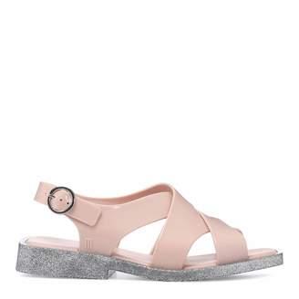 Blush Glitter Melrose Sandals