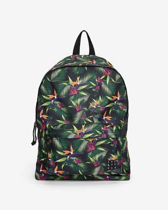 Express Multicolor Floral Backpack